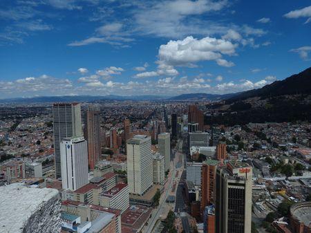 Vista del Centro Internacional Bogotá Photo by Andres Alfaro — National Geographic Your Shot
