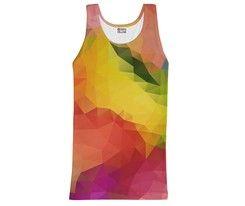 Tanktop Colorful Geometric