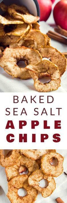 CRISPY Baked Sea Sal CRISPY Baked Sea Salt APPLE CHIPS recipe that is healthy and easy to make! These homemade chips are a healthy alternative to potato chips! The apples are baked in the oven to give them a nice crunch. I find myself craving a big bowl of these while watching TV at night! Recipe : http://ift.tt/1hGiZgA And @ItsNutella  http://ift.tt/2v8iUYW  CRISPY Baked Sea Sal CRISPY Baked Sea Salt APPLE CHIPS recipe...