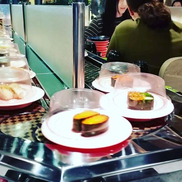 May 5 | on my plate First time experiencing conveyor belt sushi… sooo full! ���� #FMSpad #fms_onmyplate #conveyorbeltsushi #sushitrain #sushi #food #foodporn #japanesefood #foodie #japanese #sushitime #japan #sushilovers #sushiporn #instafood #yummy #dinner #foodstagram #foodpics #sashimi #sushi�� #yum #sushilover #sushibar #sushiroll #nomnomnom #sushilove #sushiaddict #foodgasm #japanesecuisine http://w3food.com/ipost/1507573351459424641/?code=BTr-fnGlYmB