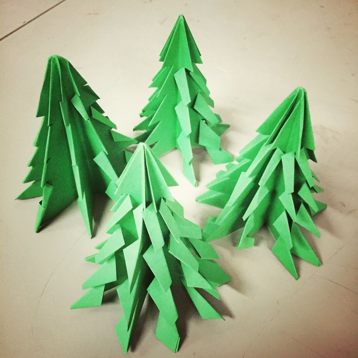 Christmas tree origami year 5