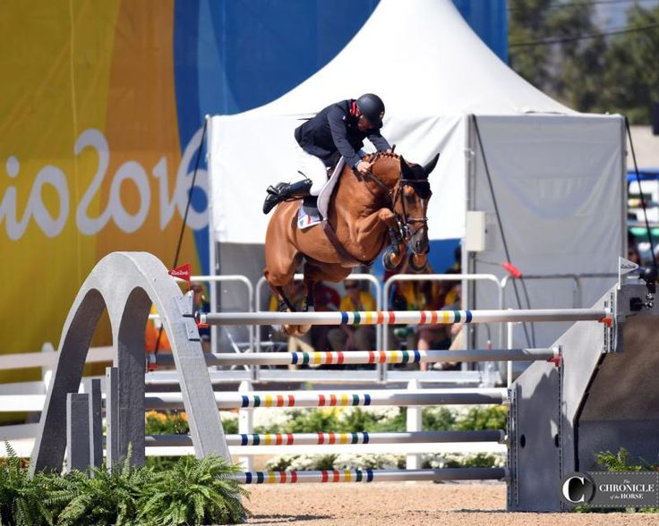 Roger Yves Bost and Sydney Une Prince 2016 Rio Olympic Games - Team Show Jumping Day 2 Roger Yves Bost and Sydney Une Prince put in a clutch clear to help France to team gold. Photo by Lindsay Berreth Photos & Video   The Chronicle of the Horse