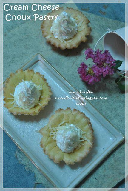 KRISTA MOCAF KITCHEN: Cream Cheese Choux Pastry / Sus Cream Cheese