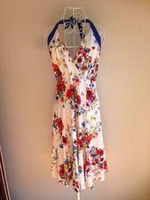Sunny Girl halter dress size 14