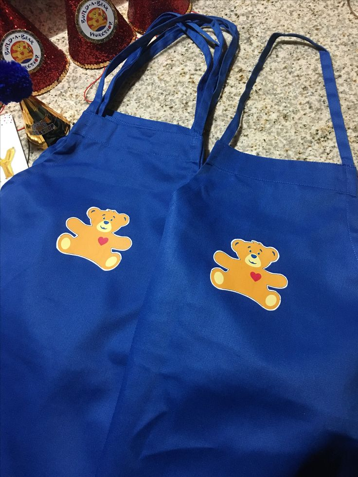 I got these made for Tru's party at build a bear