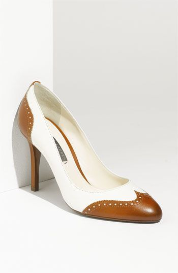 Ralph Lauren Collection 'Petra' Pump - if these were still available, and if only I had the money...