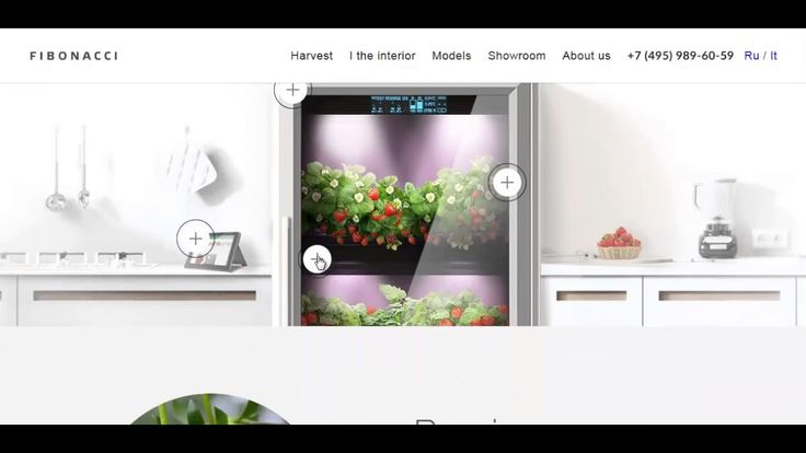 """Growing Food In Your Kitchen With The Modern """"City Farm"""" by Fibonacci"""