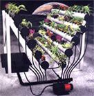 Aeroponic System for indoor gardening from Plant Tier Systems