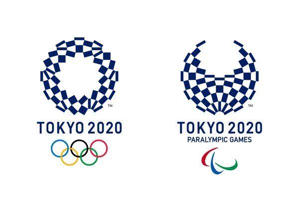 2020 Tokyo Olympic Harmonized Chequered Emblems / 2020 東京オリンピック エンブレム 組市松紋
