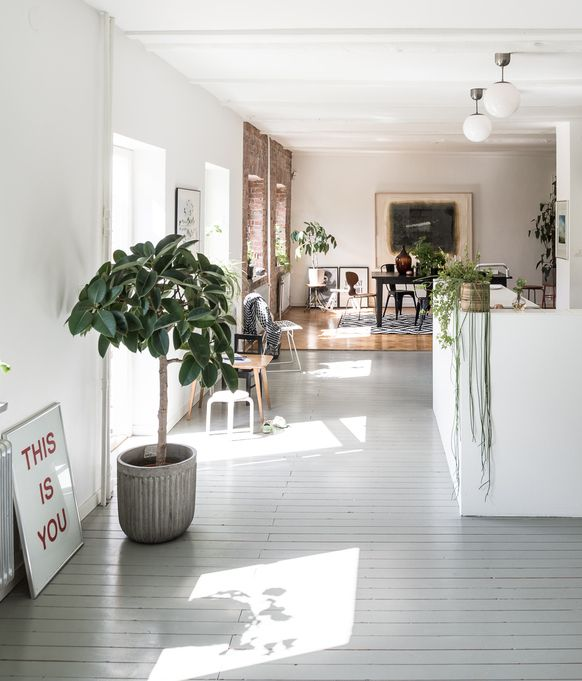 Home in an old carpentry - via cocolapinedesign.com