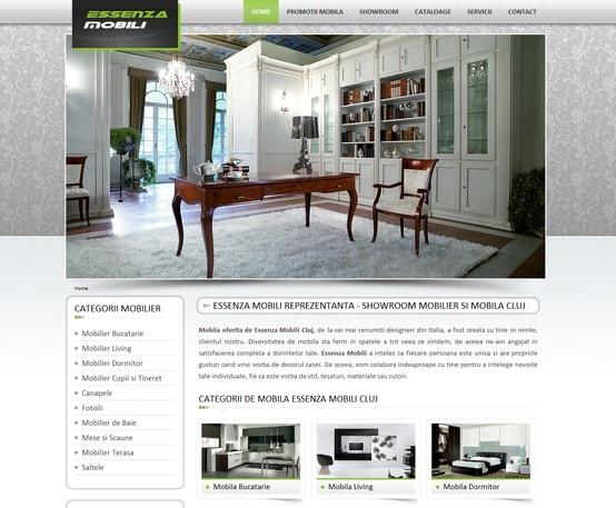 Web design & development - Essenza Mobili