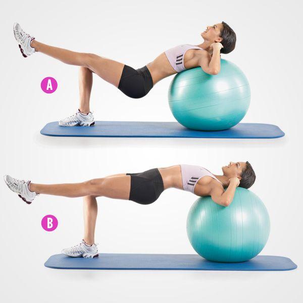 Balance Ball Legs: 235 Best THE BEST BUTT-LEGS-CORE WORK OUT Images On