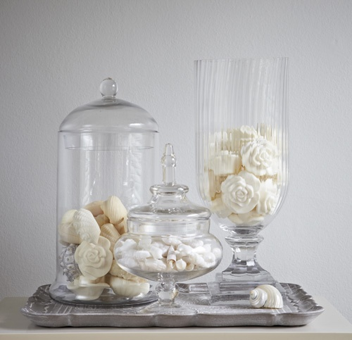 Keep Soap In Glass Jars For A Luxurious Feel To Your