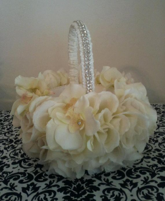 Perfect flower girl basket