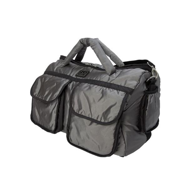 The Voyage Diaper Bag, made to be lightweight and soft, keeps contents organized and accessible for all family outings. Whether your travels take you to the streets or in the air, the Voyage Diaper Bag can be an elegant or casual accessory for one day outings or weekend trips, by 7am Enfant!