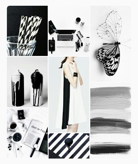 Monochrome. My favorite!