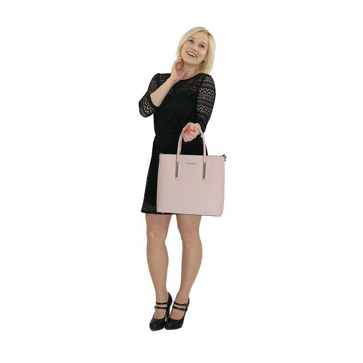 Dámská kabelka 5635, Flora & Co Paris, růžová | Delmas.cz - kabelky, peněženky, pánské tašky, cestovní zavazadla