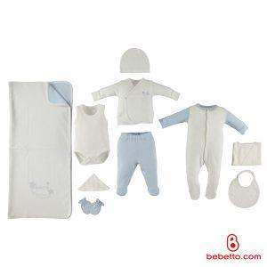 Bebetto - COTTON BABY NEWBORN SET 10 PCS (Star-17)