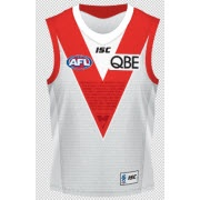 Online Auction: match-worn 30 years in Sydney guernseys.   Don't miss your chance to bid on the 22 limited edition match-worn, hand-signed guernseys from the round 8 Swans' 101-point win over Melbourne at the SCG.  http://bit.ly/KPjBHH