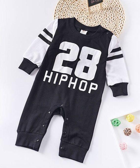 3edf59809 Hip-Hop Baby Boy Romper Jumpsuit