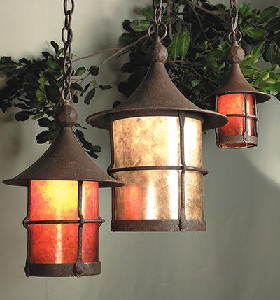 thomasville santiago lighting collection. craftsman storybook lighting- elf series by mica lamp co. thomasville santiago lighting collection