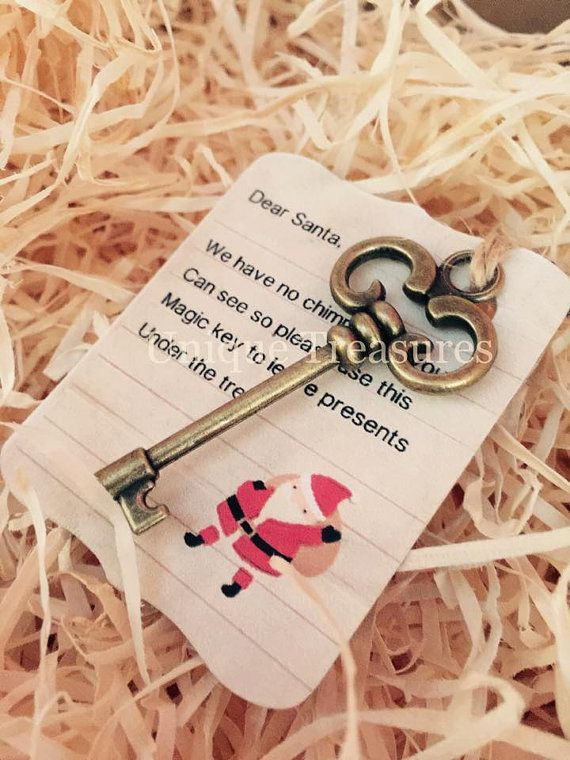 Santas Magic Key for those children that do not have a chimney :) x  Please contact for postage costs outside of UK