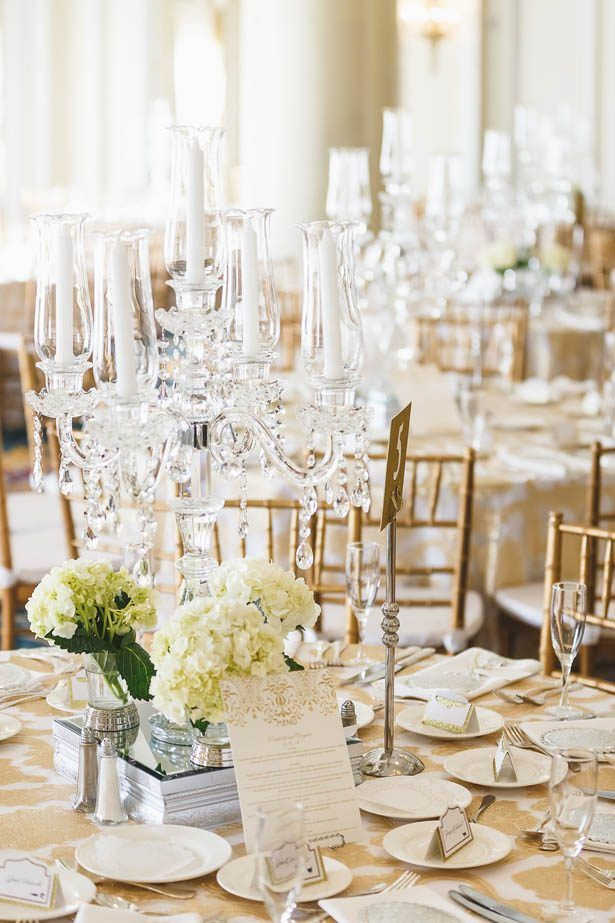 An Elegant New Years Eve Wedding With A Dash Of Fairytale Flair SprinklesCandelabra CenterpiecesColor
