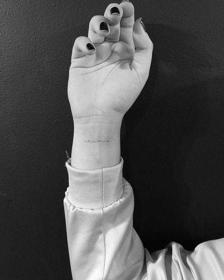 25 melhores ideias de tatuagem de c digo morse no pinterest pulseira de c digo morse c digo. Black Bedroom Furniture Sets. Home Design Ideas