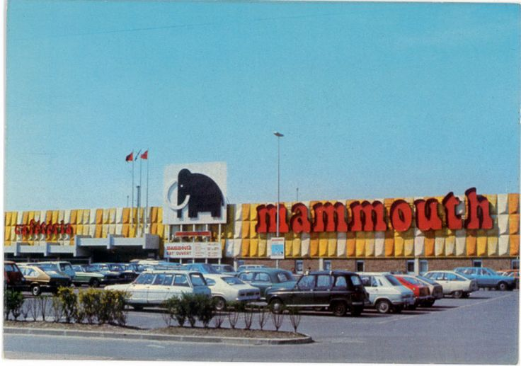 mammouth supermarche france