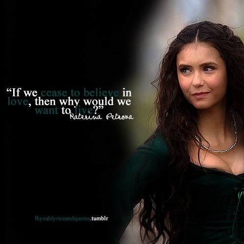 vampire diaries love quotes - photo #21