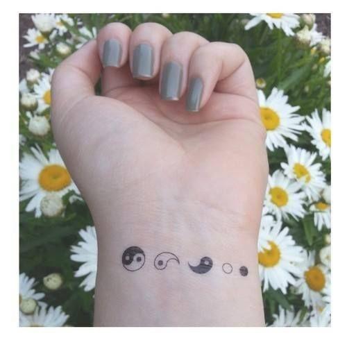 yin yang tattoo small 2016                                                                                                                                                                                 More