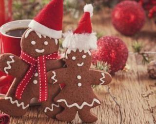 Biscuits spéculoos façon Bonhommes de Noël…