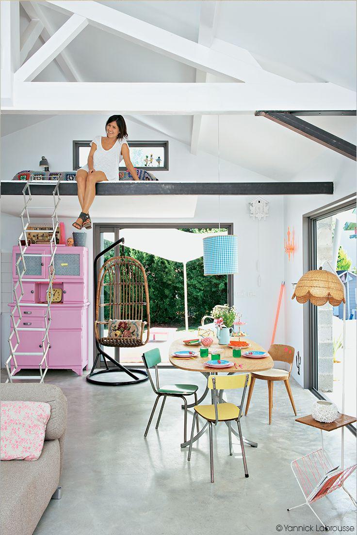 mezzanine place. Black Bedroom Furniture Sets. Home Design Ideas