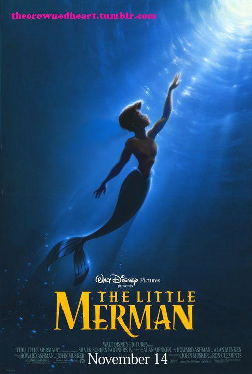 The Little Merman poster