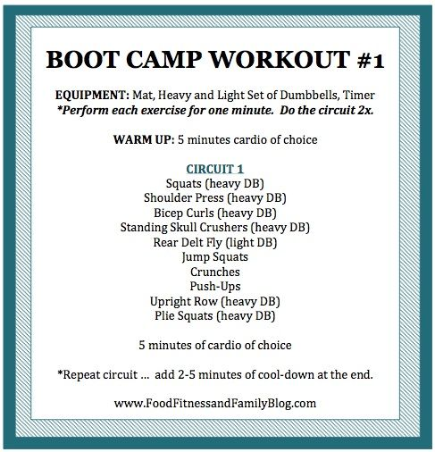 Boot Camp Workout #1  Via @FoodFitandFam: Flat Abs, Workout Workout, Bootcamp, Weight Loss, Fat Loss, Camps, Boots, Boot Camp Workout, Healthy Living