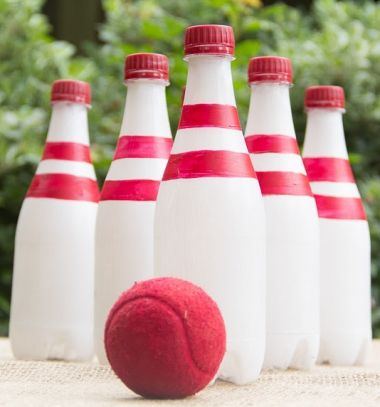 Bowling készlet újrahasznosított műanyag palackokból / Mindy -  kreatív ötletek és dekorációk minden napra