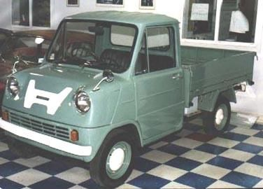 The T360's big brother, the T500, was produced from September1964 to November1967