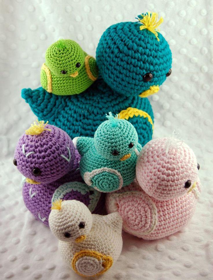 les 25 meilleures id es concernant oiseaux en crochet sur. Black Bedroom Furniture Sets. Home Design Ideas