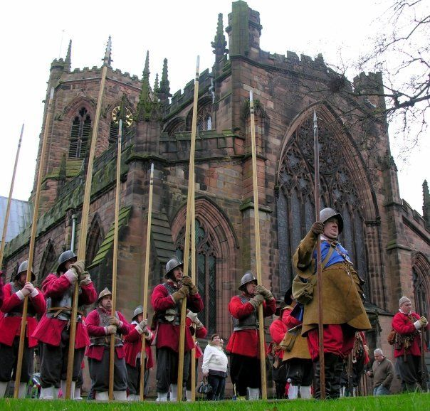 The thrill of re-enactment - Nantwich's Holly Holy Day.