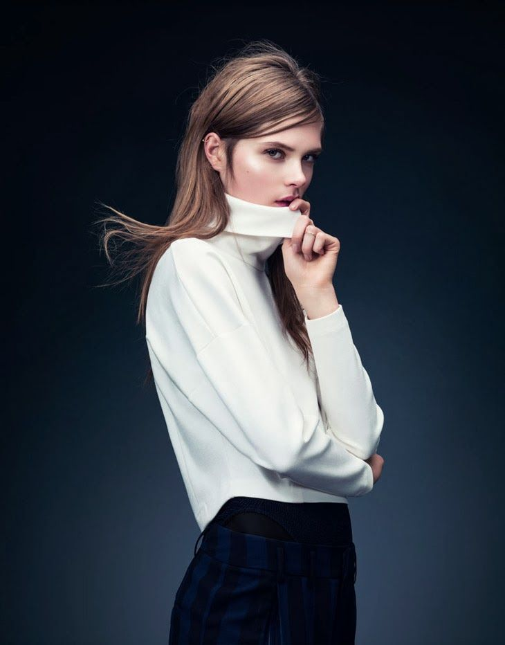 pedalfar:  Caroline Brasch Nielsen by Andrew Yee for H&M 2014 | Photoshoot