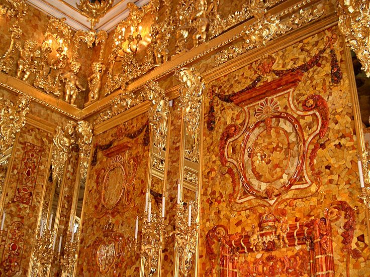Amber Room - Wikipedia, the free encyclopedia