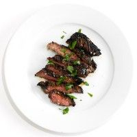 Grilled Steak with Parsley-Parmesan Salad Recipe - Bon Appétit