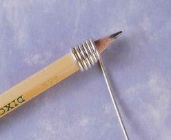 How To Make A Cone Shaped End Cap #Wire #Jewelry #Tutorials