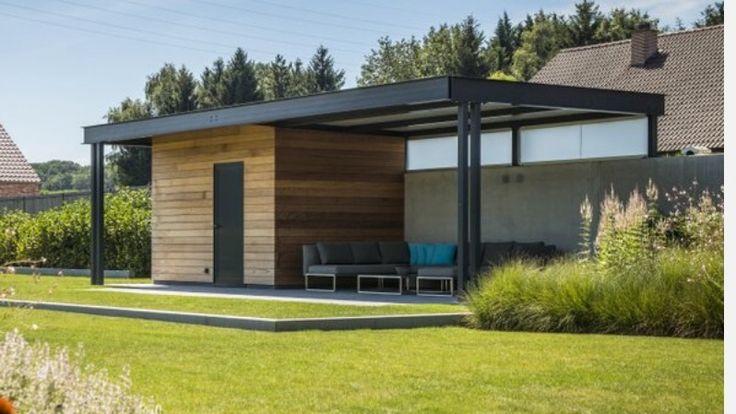 De 9 beste afbeeldingen over overdekt terras op pinterest zwembad huizen tuin en schuren - Overdekt terras tegel ...