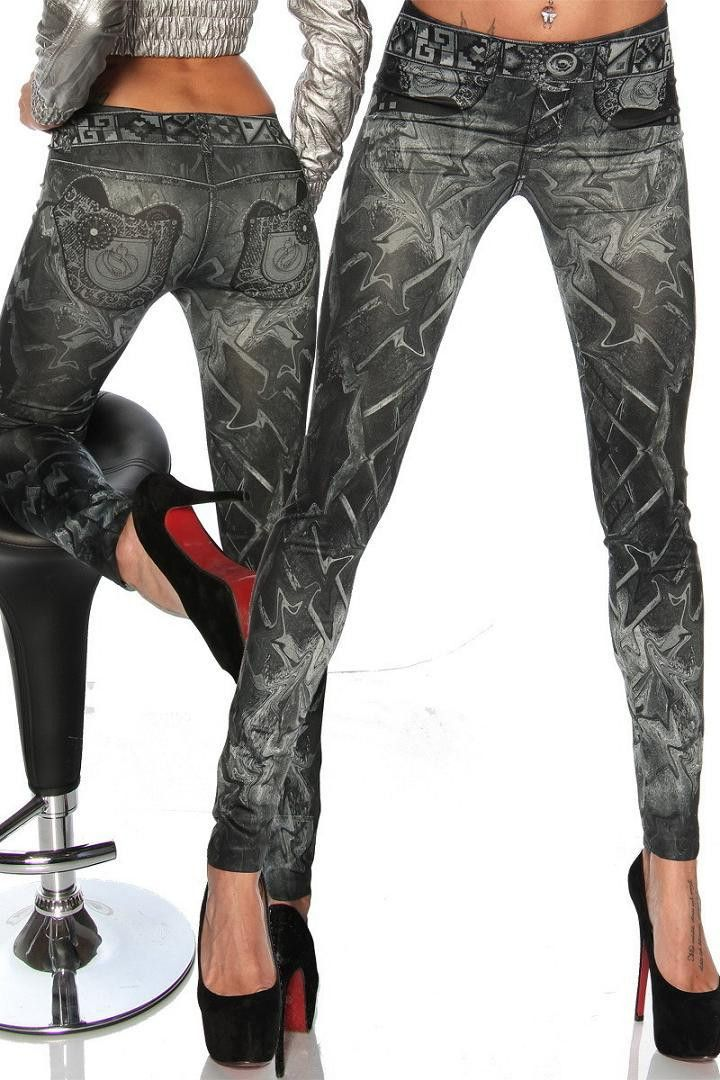 Sexy Stretchy Slimming Jeggings