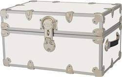 College Trunks - Armored Space Saver Size - Dorm Room Organization Essential College Trunk