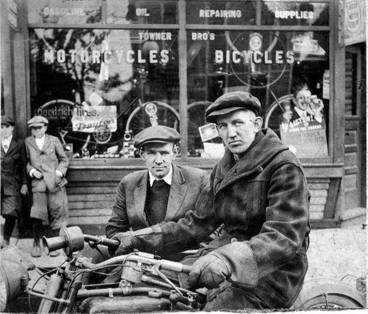 1bohemian:  William Harley and Arthur Davidson.