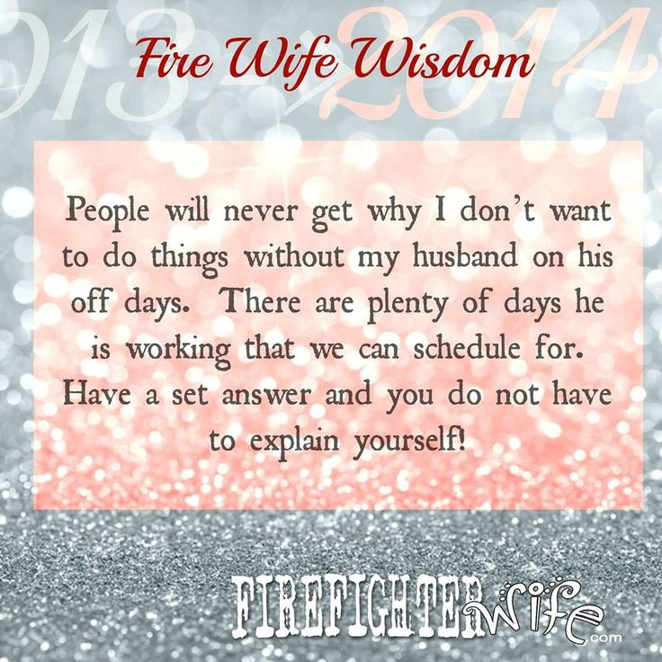 #firefighter wife
