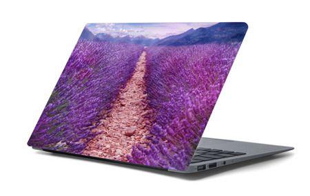 Naklejka na laptopa - Prowansalskie pole 4460