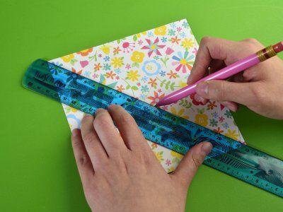 Cómo hacer un rehilete con origamiCómo hacer un rehilete con origami